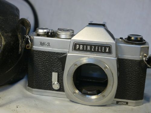 * 42mm* Prinzflex M-1 M42 SLR Camera Cased £9.99